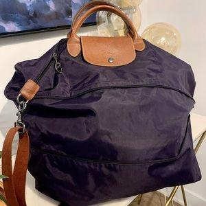 Longchamp XL travel Le Pliage bag (expandable)